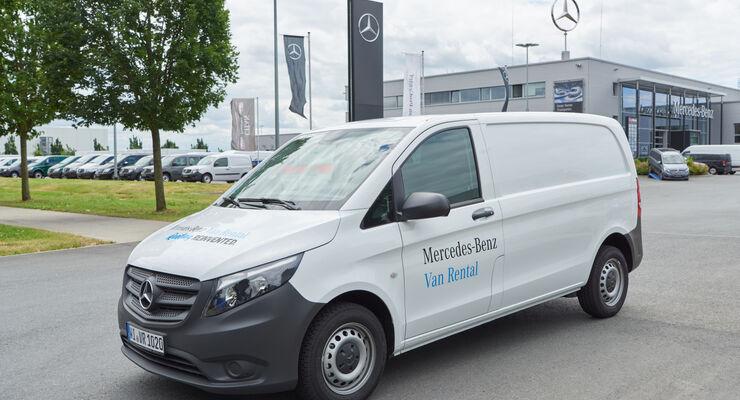 Mercedes-Benz Vans Mobility GmbH: Mercedes-Benz Van Rental: Die neue Marke für Transportermiete