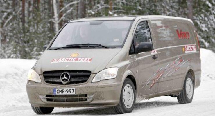 Mercedes-Benz Vito überzeugt in Skandinavien