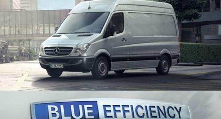 Mercedes-Benz bringt umweltfreundlichen Sprinter