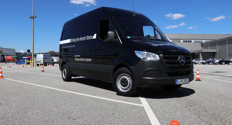 Mercedes-Benz eSprinter (2019)