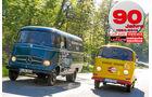 Mercedes L 319 und VW Transporter T2