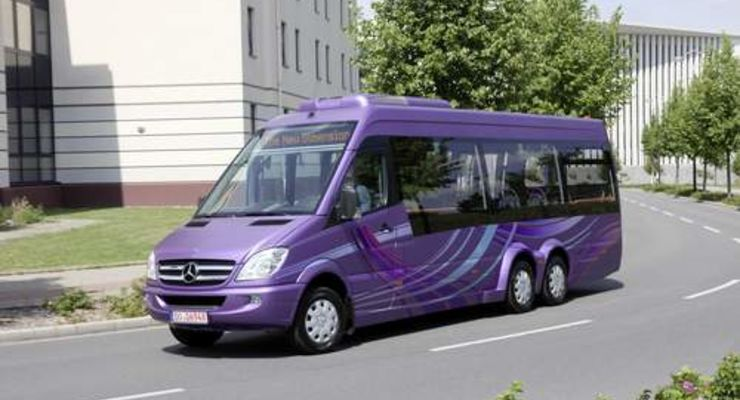 Mercedes Sprinter City 77 kommt