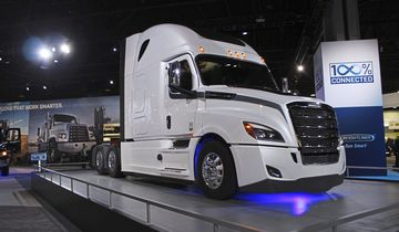 NACV Messe 2017 USA Atlanta US Trucks