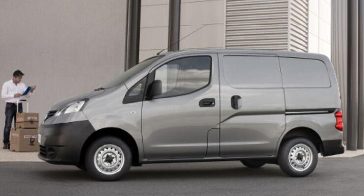 NV200: Nissan bringt Kleintransporter