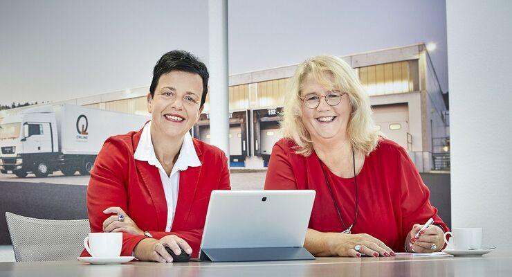 Neue Doppelspitze bei Online: Petra Welling und Angelika Hinsch