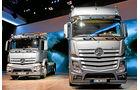Neue Lkw-Kabinen, Mercedes Antos