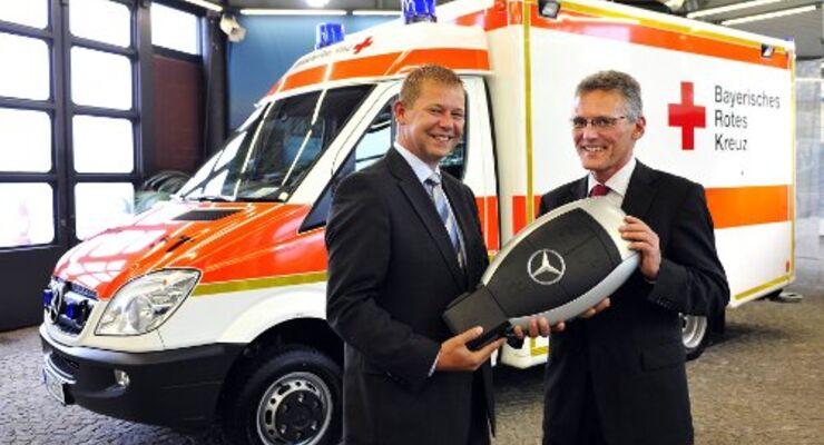 Neue Mercedes Sprinter für das BRK