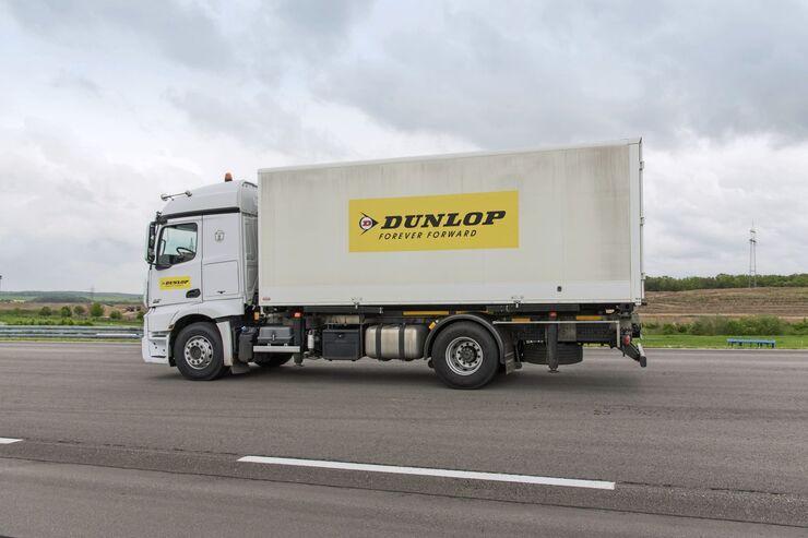 Neue Reifen-Baureihe für Lkw von Dunlop