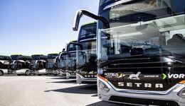 Neun neue WieselbusseNine new weasel buses