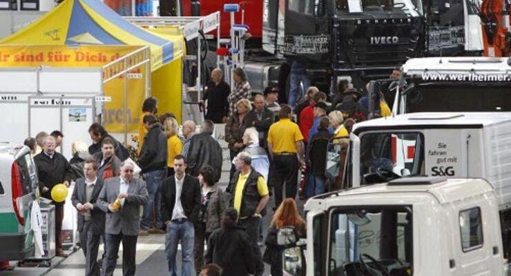 Nutzfahrzeugmesse Nufam startet im April