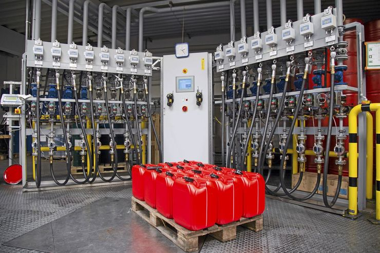 Ölproduktion