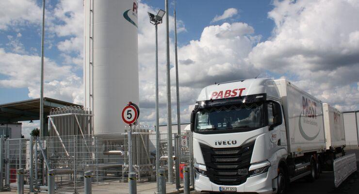Pabst Transport LNG-Werkstatt