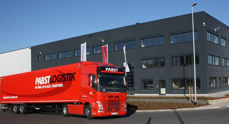Pabst Transport, Pabst, Logistik, Logistik-Center, Logistikfläche
