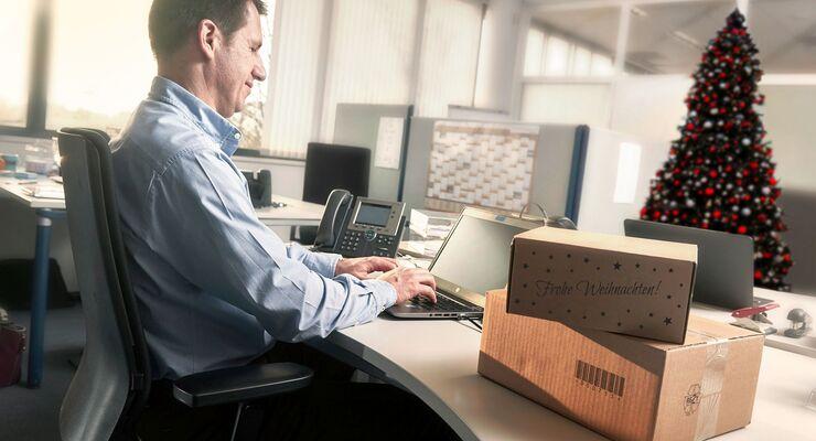 Pakadoo, DPD, Paket am Arbeitsplatz
