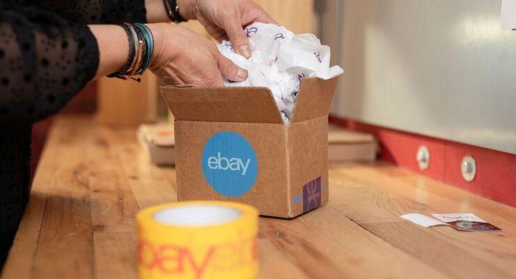 Paket von eBay