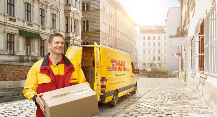 Pakete bei der Deutschen Post DHL