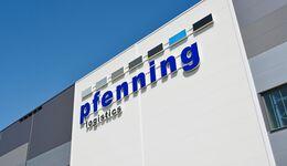 Pfenning Logistics Logo Schriftzug