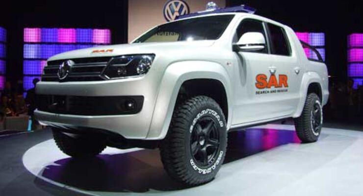 Pickup-Studie von VW Nutzfahrzeuge