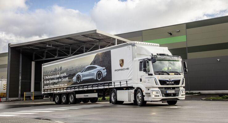 Porsche LGI Logistics MAN eTGM