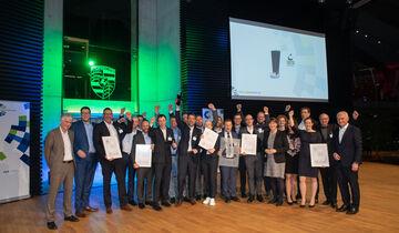 Porsche gewinnt den VDA Logistik Award 2020