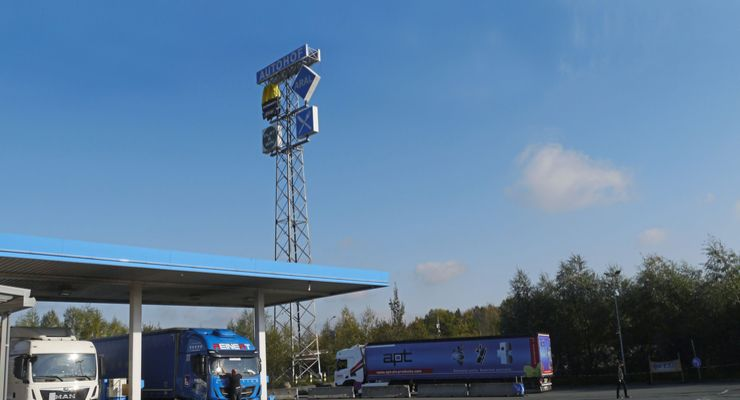 Porta Westfalica Autohof Aral Truckstop 2/2020 2/20 mölicher Aufmacher