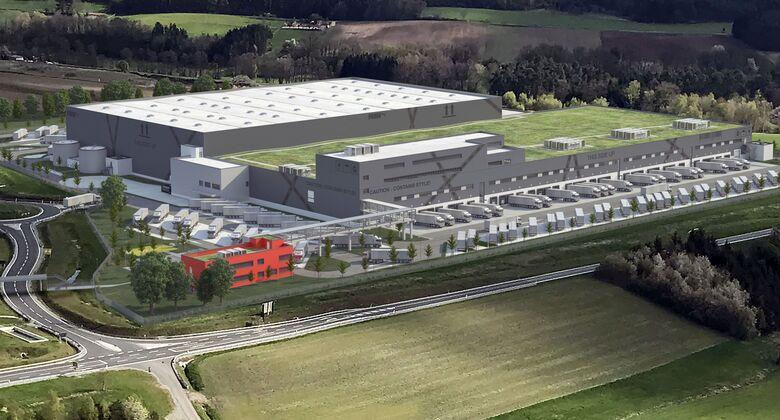 Puma, Dietz, BLG Logistics, CO2-neutral, Multi-Channel-Zentrallager, Geiselwind
