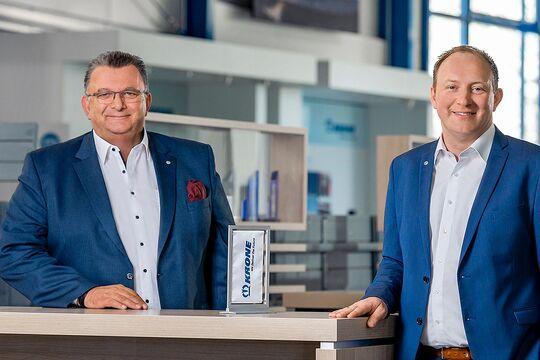 Ralf Faust und Maximilian Birle von Krone