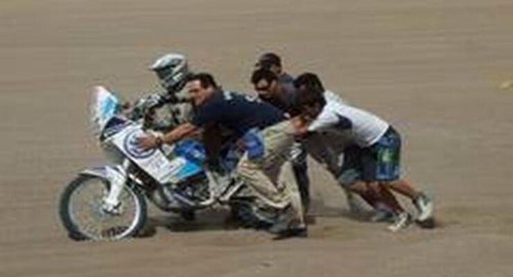 Rallye Dakar, 07.01.2010