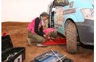 Rallye des Gazelles, Reperatur