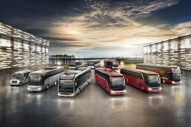 Ranges Mercedes-Benz & Setra 2019