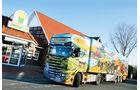 Rasthof Oldenburger Münsterland, Sturm, Scania