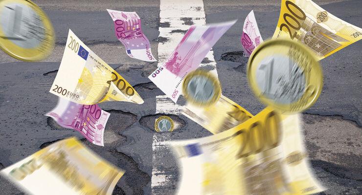 Regierungsbildung, Löchrige Finanzierung