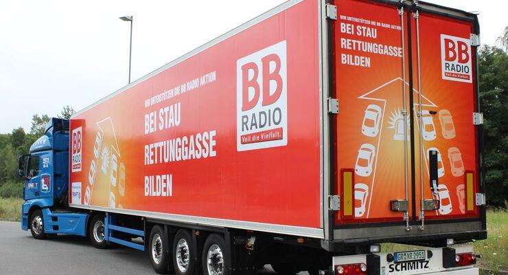 Reinert Logistics unterstützt die Kampagne Pro Rettungsgasse.