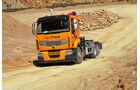 Renault Lander Optitrack, Beladen, Deponie, Basisfahrzeug
