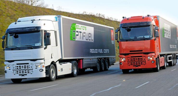 Renault Trucks, Lkw, Fernverkehrs-Lkw, Produktpalette