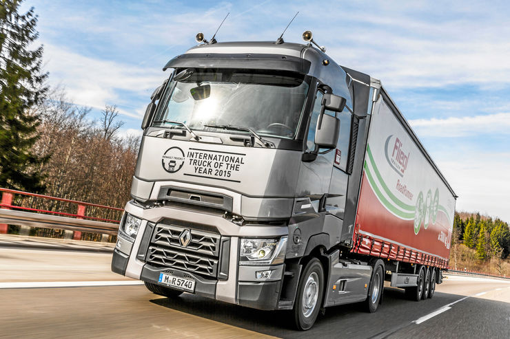 Renault Trucks T520 Maxispace, Truck of the Year 2015