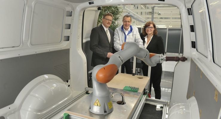 Roboter, VW, Nutzfahrezeuge, Hannover