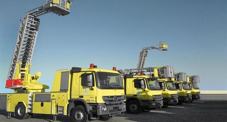 Rosenbauer, Mercedes-Benz, Feuerwehr, Saudi-Arabien, 2012