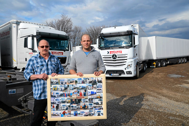 Rother Transporte in Lindhorst, Mercedes