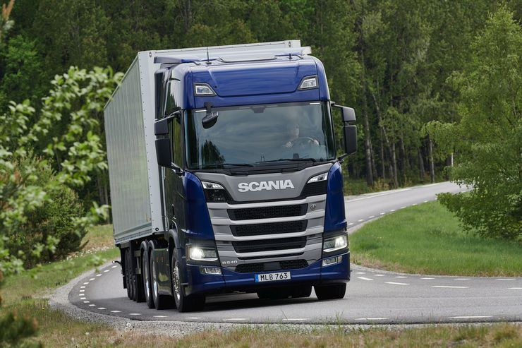 Scania DC13 166 mit 540 PS
