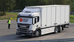 Scania Driver Competitions am Freitag