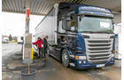 Scania G, Tankstelle