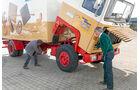 Scania P 280 LB gegen LB 110 Super, Fahrerhaus kippen