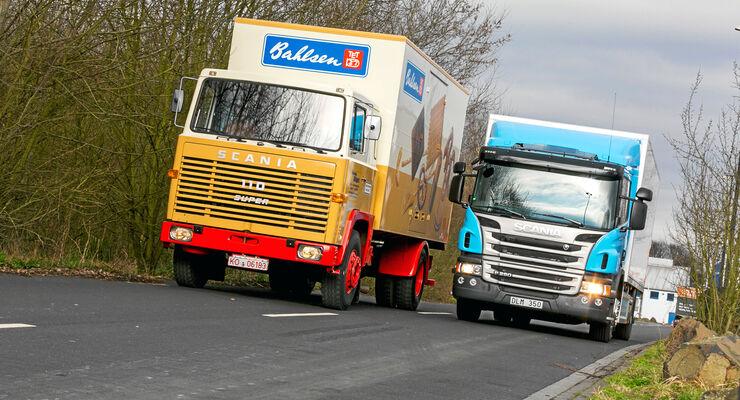 Scania P 280 LB gegen LB 110 Super
