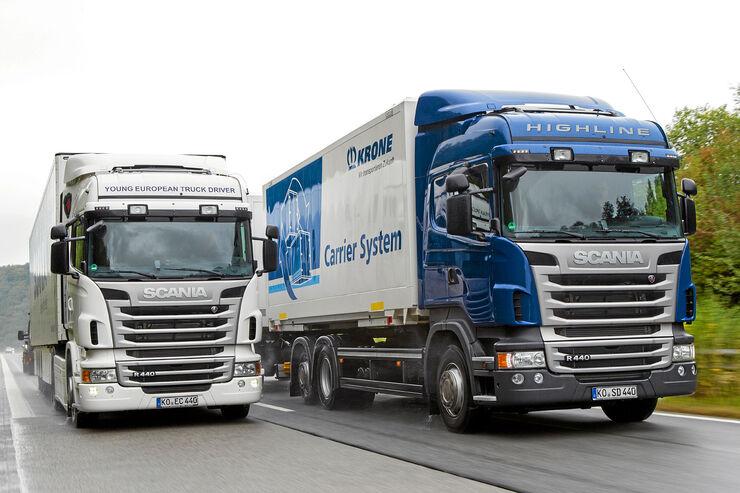 Scania R440 4x2/6x2, Vergleich