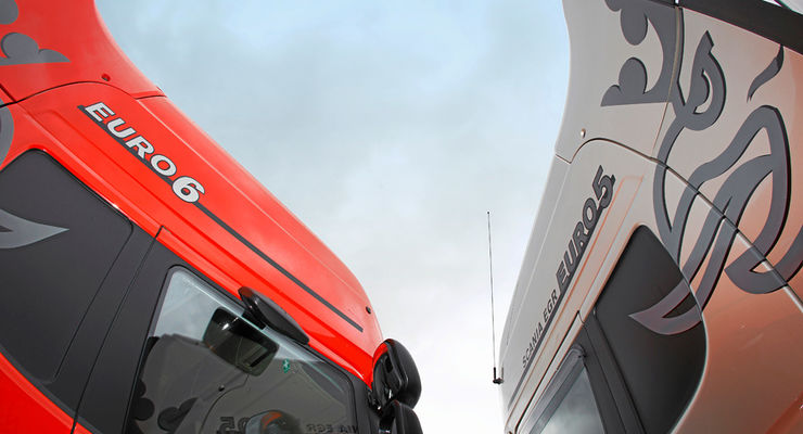 Scania R480 Euro 5 und Euro 6,