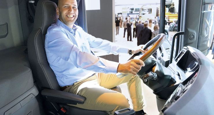 Scania, René Seckler, IAA 2018