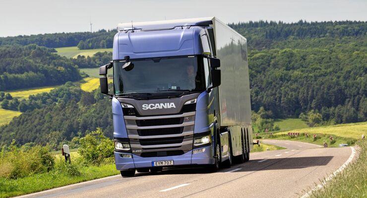 Scania V8 2017 Vorstellung Getriebe