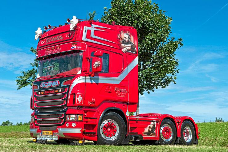 "Scania Weeda ""Sons Of Anarchy"", Scania, Holland, Scania, Supertruck"