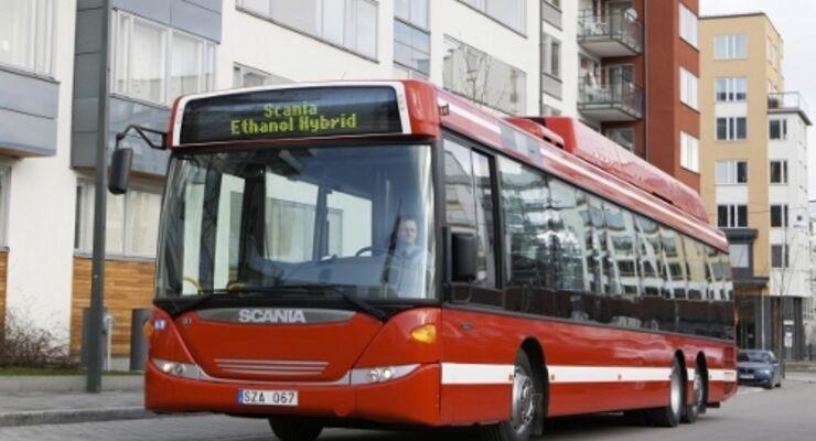 Scania stellt den OmniLink vor